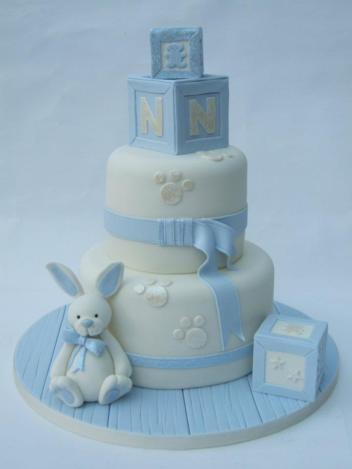 Assez Torte decorate per battesimo_coniglietto e dadi - Blogmamma.it  KY52