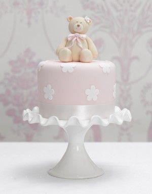Torte decorate per battesimo_orsetto