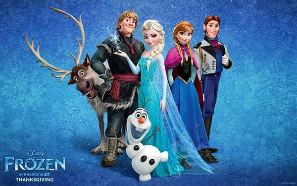 festa a tema Frozen_personaggi