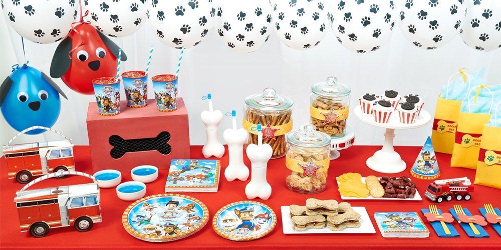 Festa a tema Paw patrol_buffet cuccioli