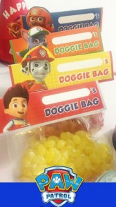 Festa a tema Paw patrol_doggy bag