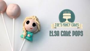 Buffet per una festa a tema Frozen_Elsa cake pops
