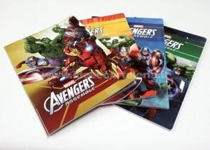 Accessori scuola low cost da comprare online_ quadernoni Avengers