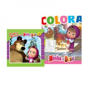 accessori mare di Masha e Orso_gioca e impara giornalino