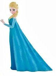 decorazioni per torte di Frozen_ Statuina Elsa in pvc