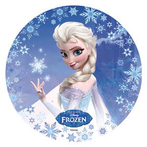 decorazioni per torte di Frozen_ cialda Elsa
