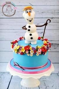decorazioni per torte di Frozen_ olaf