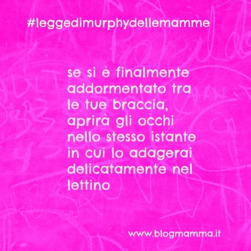 legge di murphy delle mamme