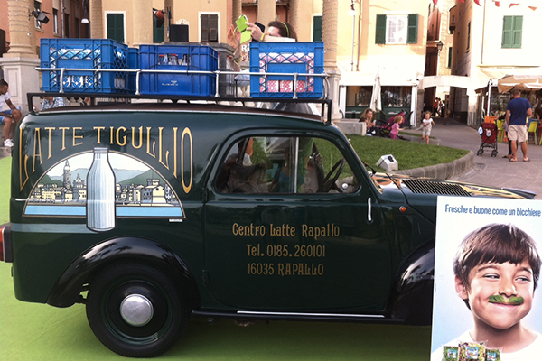latte tigullio al green carpet