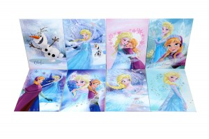 Accessori scuola di Frozen_set quadernoni