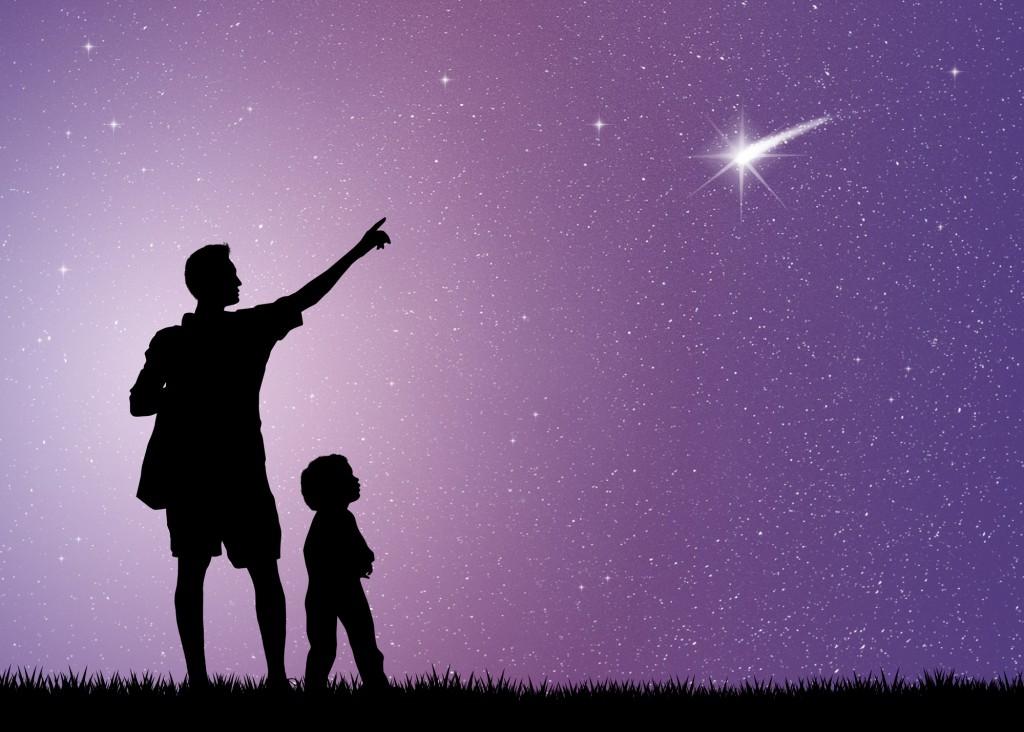 SPiegare le stelle cadenti ai bambini_cielo stellato