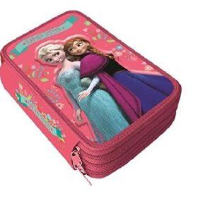 accessori scuola di Frozen_astuccio elsa e Anna colore rosa