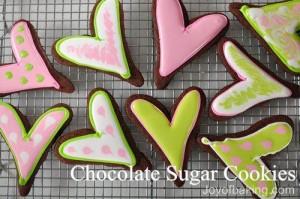 Biscotti facili da fare con i bambini_pasta frolla al cioccolato a forma di cuore