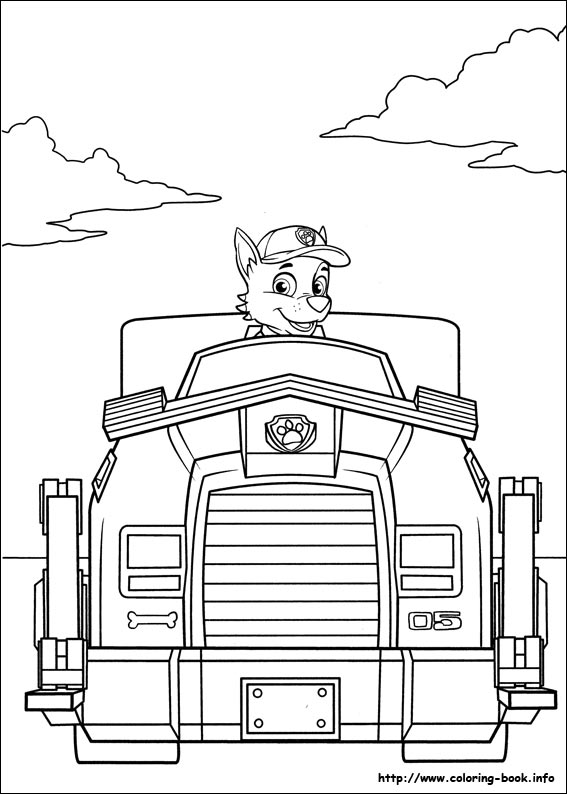 Disegni della paw patrol da stampare gratis rocky e il suo for Disegni di paw patrol