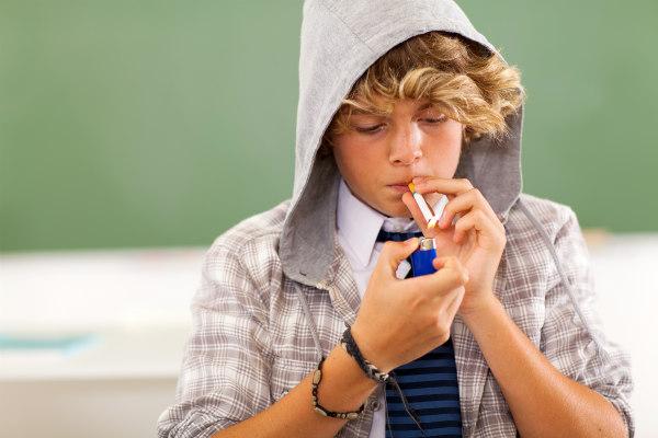 Fumo e adolescenti