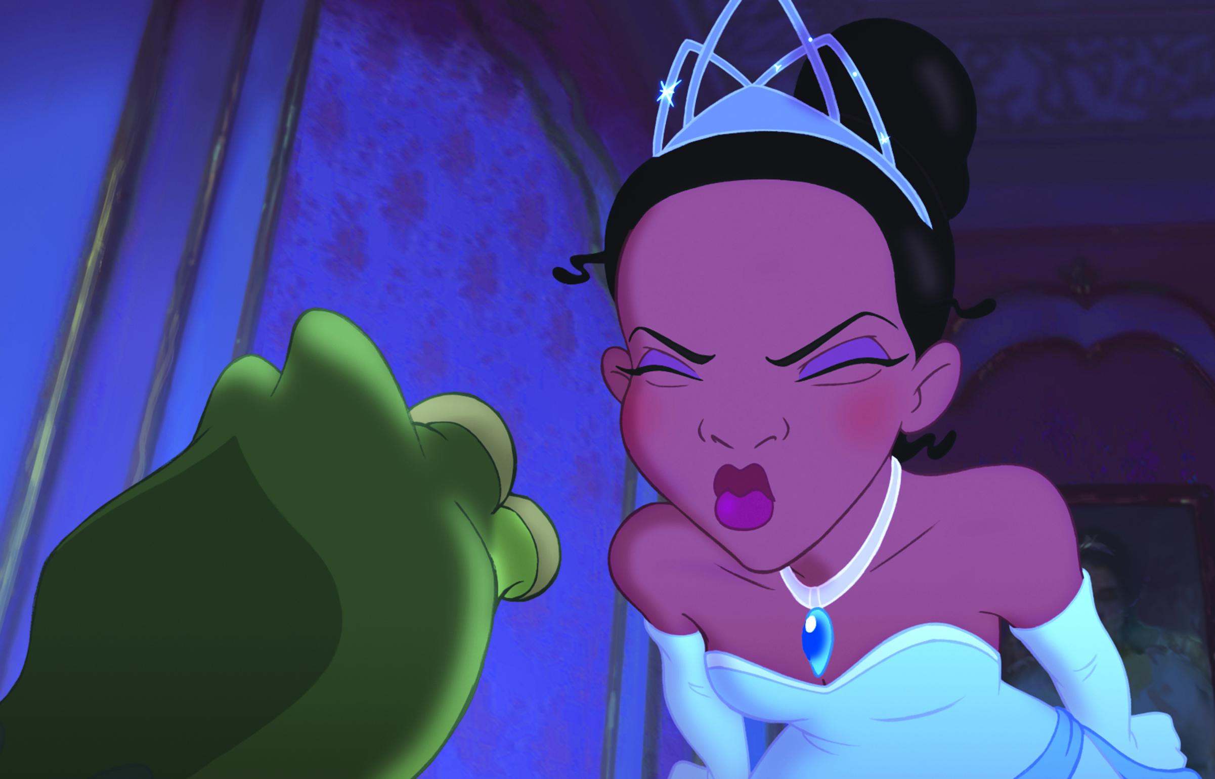 Il magico mondo di disney junior_la principessa e il ranocchio_il bacio