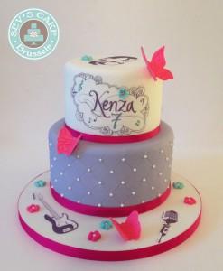 Torte di compleanno Violetta_font Violetta per nome