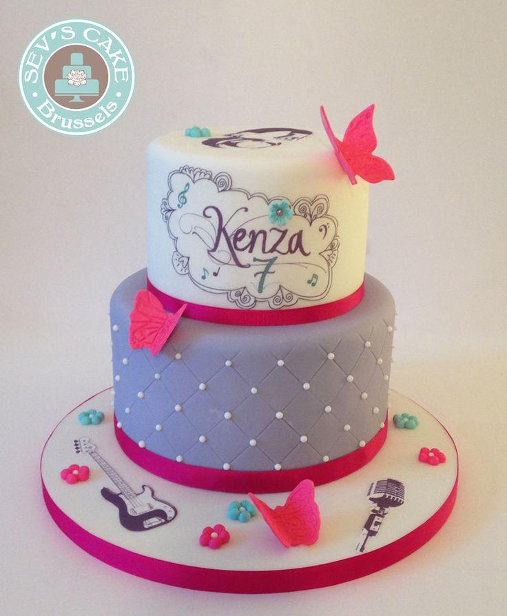 Torta Cake Design Violetta : Torte di compleanno Violetta_font Violetta per nome ...