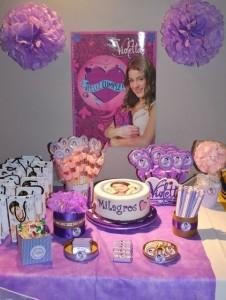 festa a tema Violetta_allestimenti