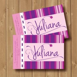 festa a tema Violetta_inviti in stile Violetta