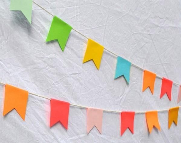 Favoloso festoni fai da te in carta per cerimonie e feste : Blogmamma.it JS01