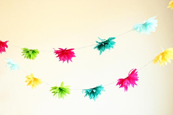 festoni fai da te per cerimonie e feste