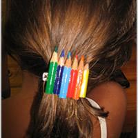 riciclare matite colorate