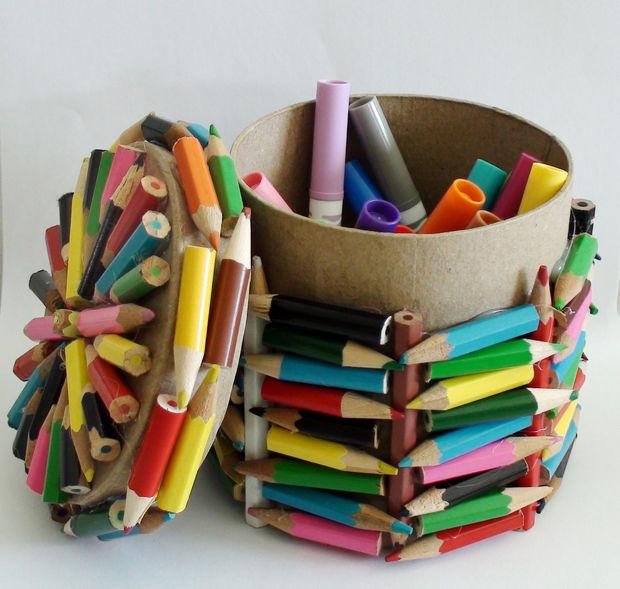 riciclare vecchie matite