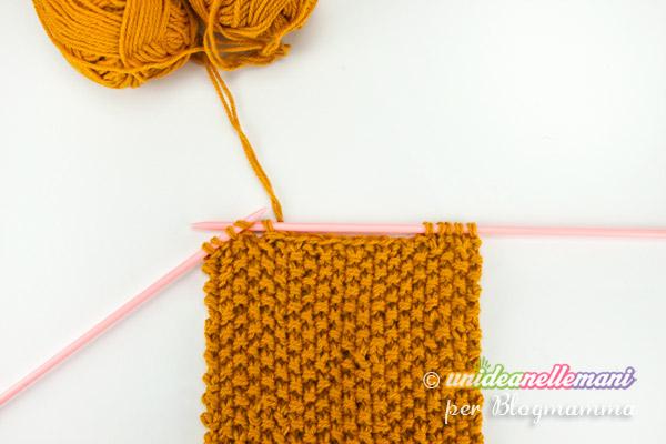 sciarpa animale a maglia