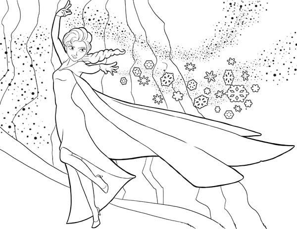 Disegni Da Colorare Di Frozen Da Stampare Gratis Elsa E I