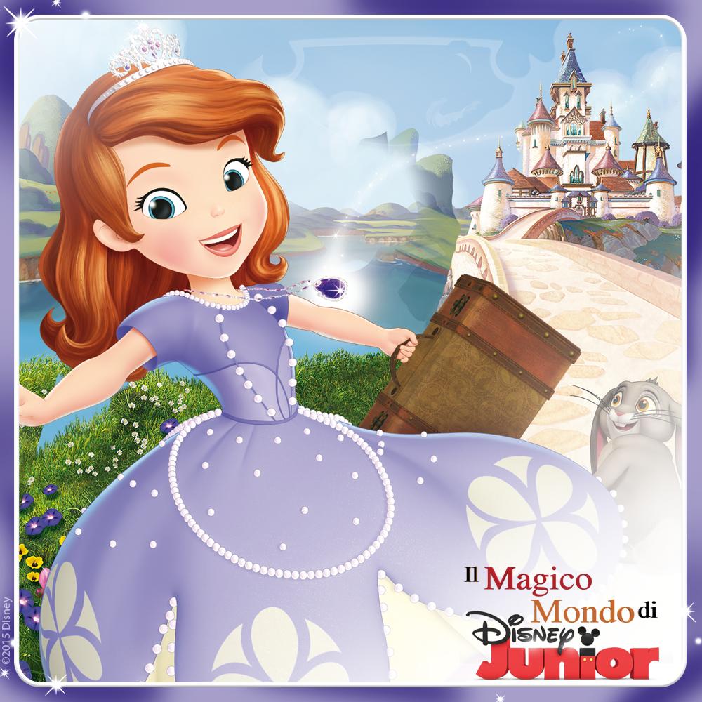 Il Magico Mondo di Disney Junior_Sofia C'era una Volta una Principessa