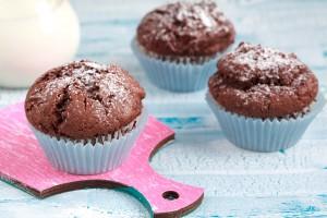 Muffin al cioccolato per bambini senza burro e latte_ricetta facile
