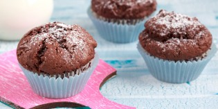 Muffin al cioccolato per bambini senza burro e latte: ricetta facile