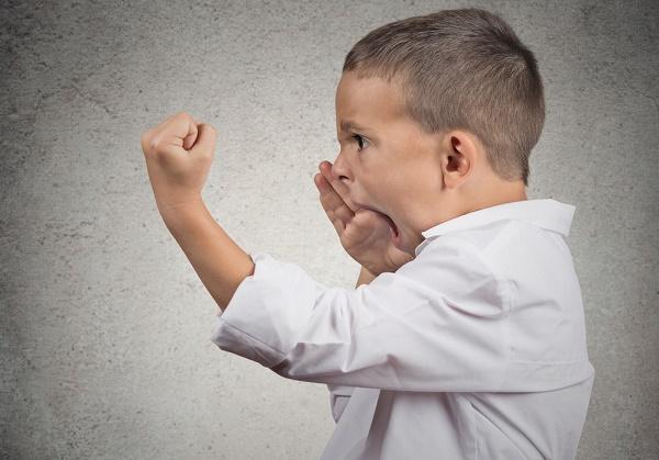 come affrontare la rabbia nei bambini