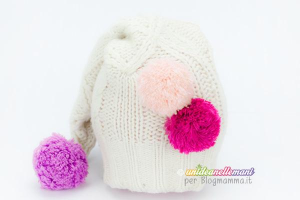 cucire cappelllino per bambini