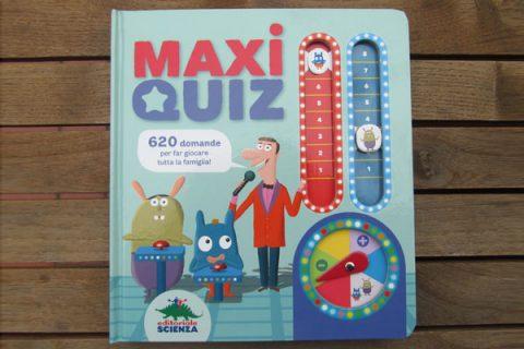 Libro Maxi Quiz di Editoriale Scienza