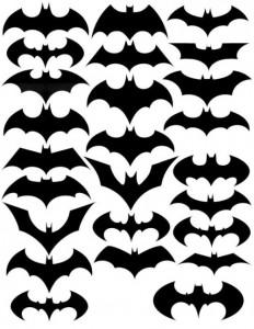 Halloween: pipistrelli fai da te_sagoma