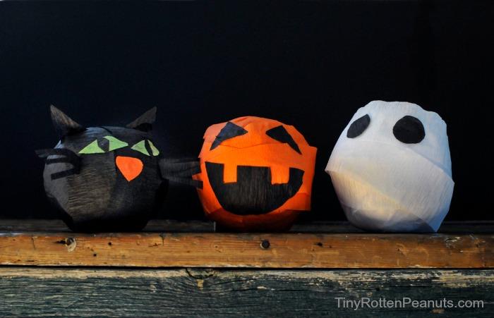 lavoretti halloween facili per bambini asilo