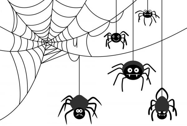 Ragnatele fai da te per Halloween