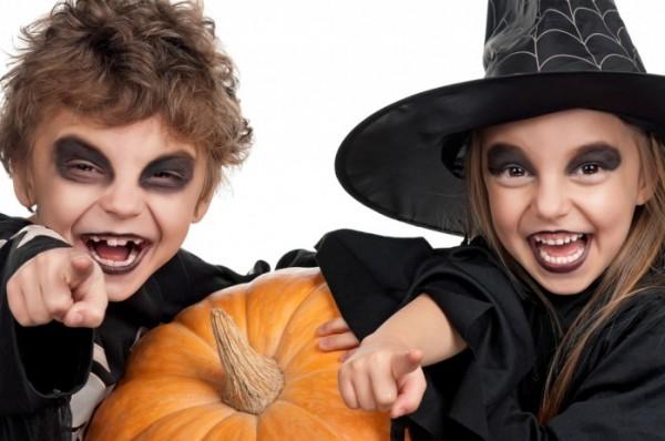 ... fai da te. Halloween trucco strega bambina 67c35a94298d