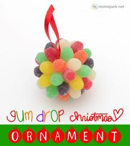 Decorazioni di Natale fai da te con le caramelle gommose