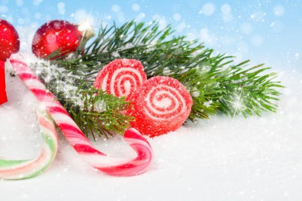 Decorazioni di natale fai da te con le caramelle - Decorazioni per feste fai da te ...