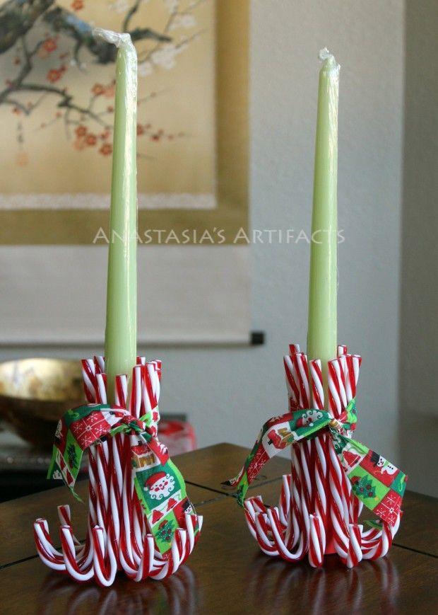 Decorazioni di natale fai da te con le caramelle - Pannelli decorativi fai da te ...