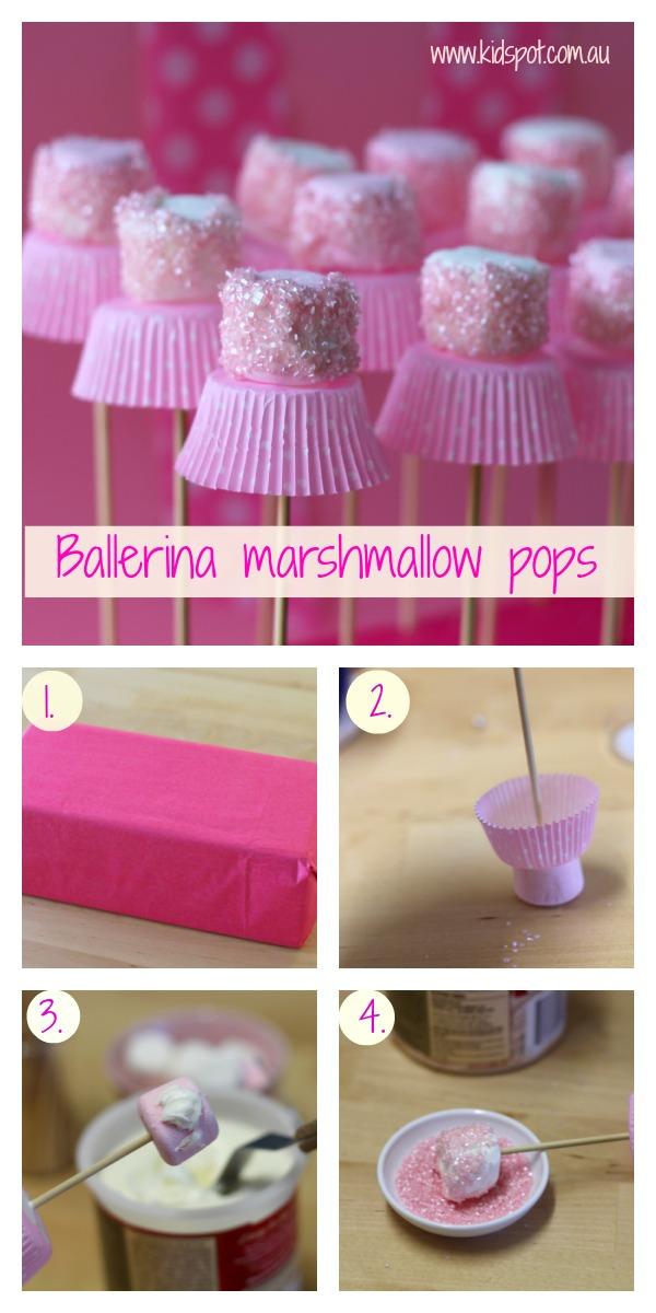 Festa a tema principesse fai da te_buffet-marshmallow