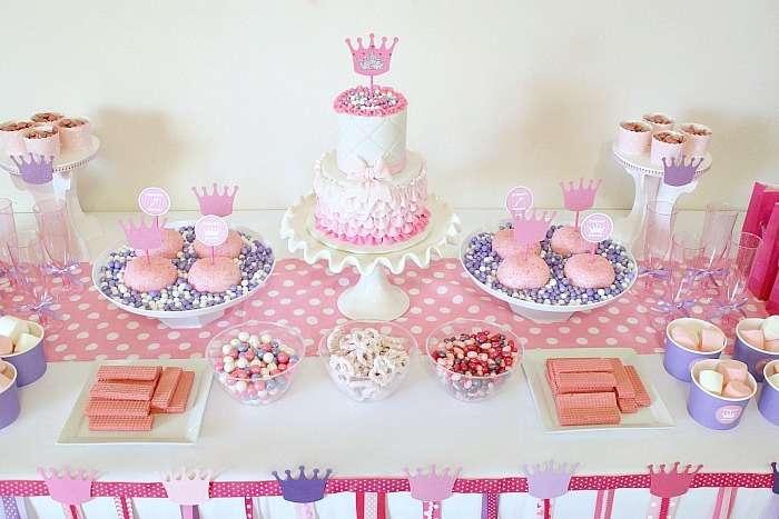 Festa a tema principesse fai da te_buffet