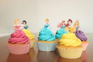 Festa a tema principesse fai da te_cupcakes