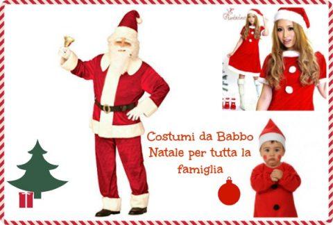 costume da Babbo Natale da comprare online