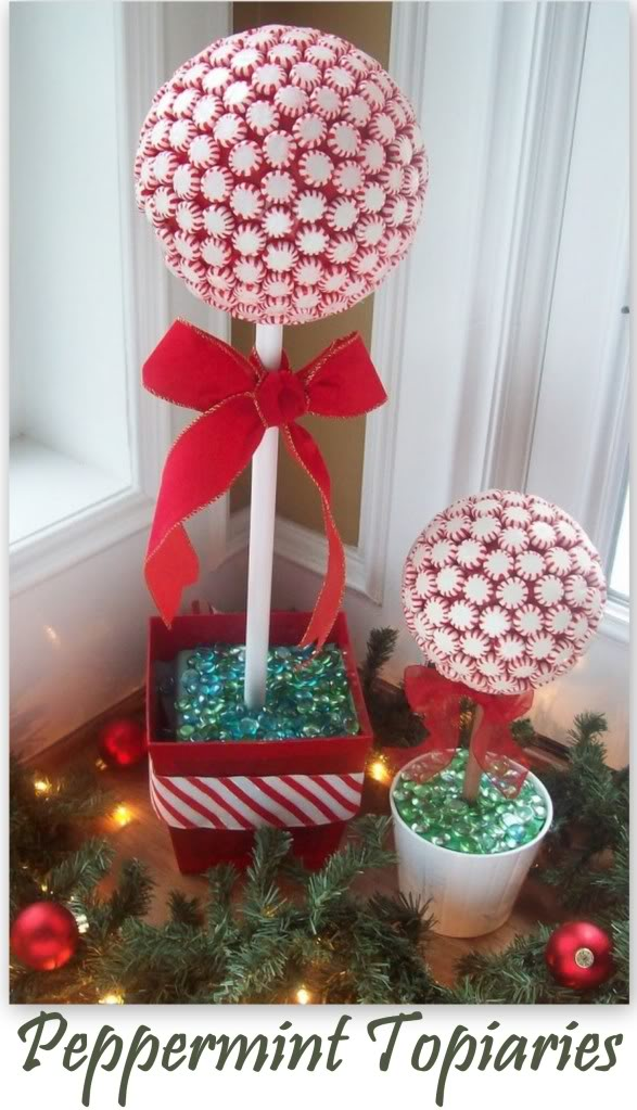 Decorazioni di natale fai da te con le caramelle - Arboles de navidad de chuches ...