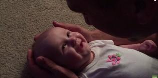 Il papà canta alla sua bimba (video tenerissimo)