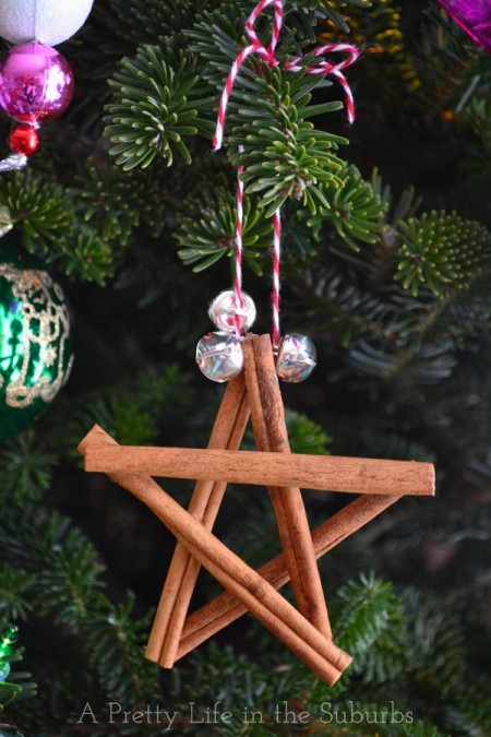 stelle fai da te per lavoretti di Natale